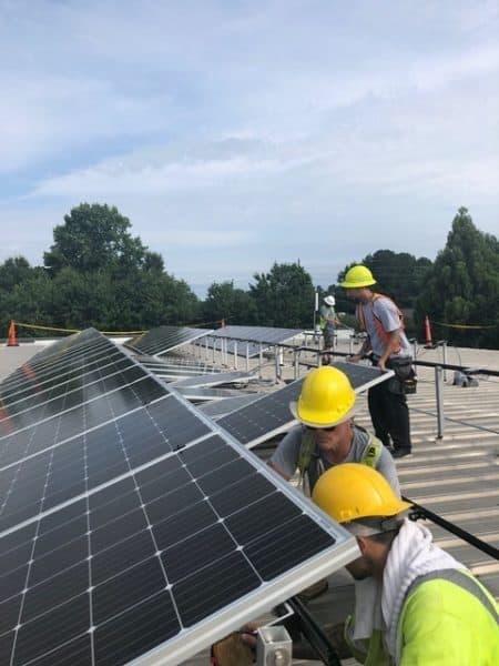 installing solar panels pettyjohns