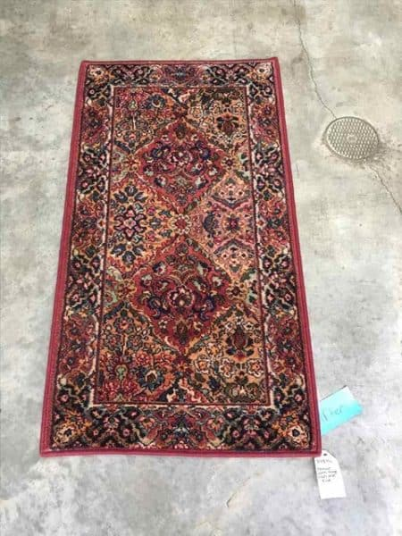 karastan rug fringe removal after