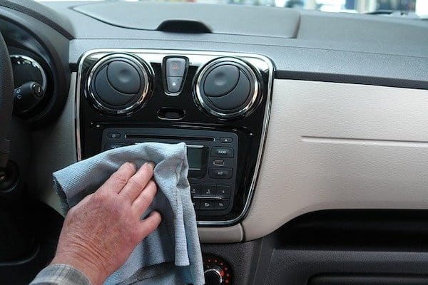 cleaning and disinfection services wake forest, Cleaning and Application of Disinfectant to Automobiles