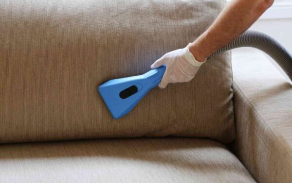 upholstery cleaning process