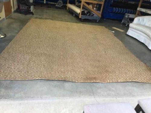 Sisal Rug Before Resizing